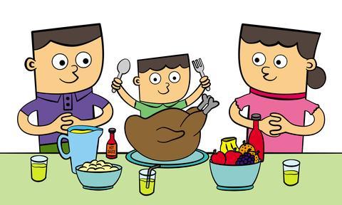 семейный ужин-1