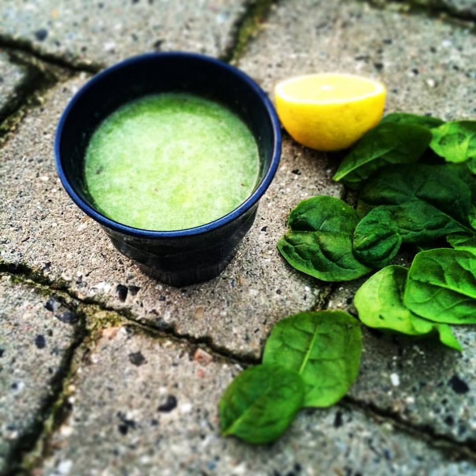 Полезный и быстрый завтрак #8 - Смузи овощной
