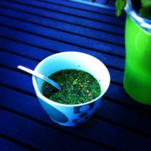 Мисо-суп с петрушкой