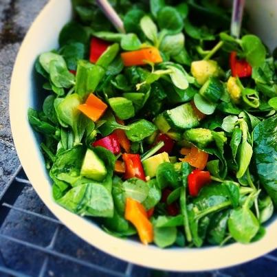 салат с авокадо. Как похудеть - советы Екатерины Йенсен