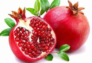 Гранат - продукт от старения, чем богат:витамин С, калий, витамин В5, еллагитаннин, катехины, антоцианы