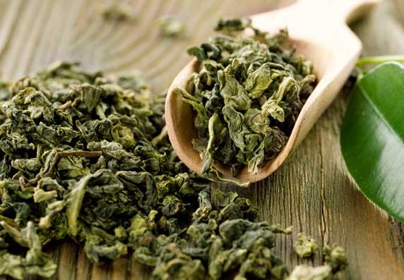 Зеленый чай - продукт от старения, чем богат:полифенолы и катехины