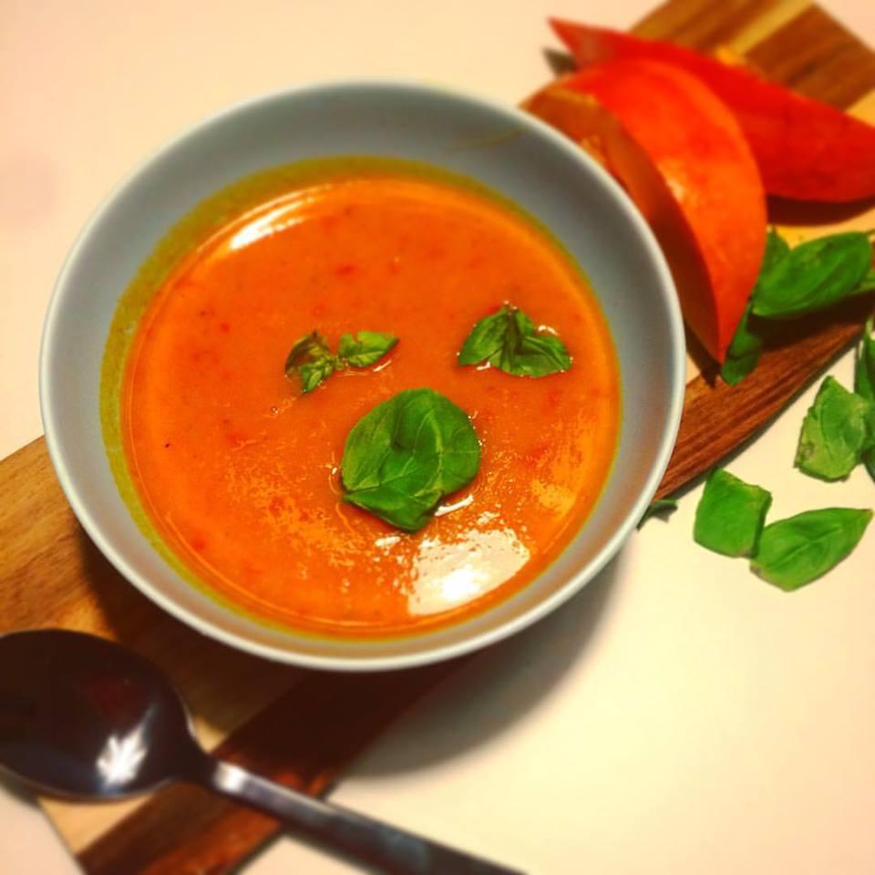 Детокс суп из моркови с имбирем