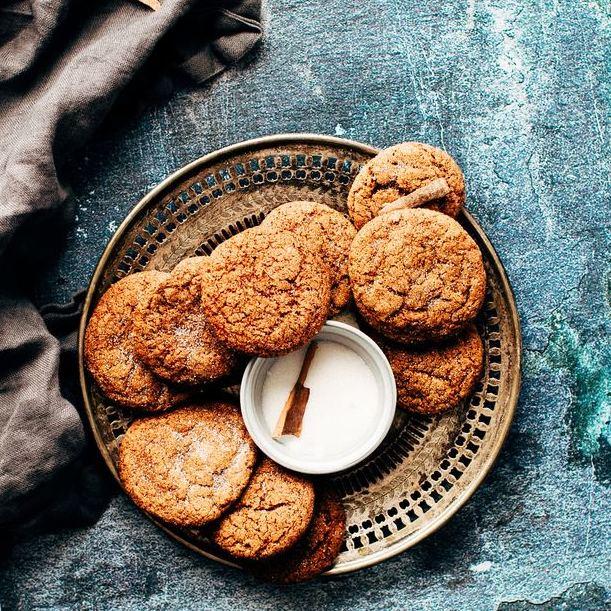 рецепт полезного рождественского печенья, орехово-лимонное