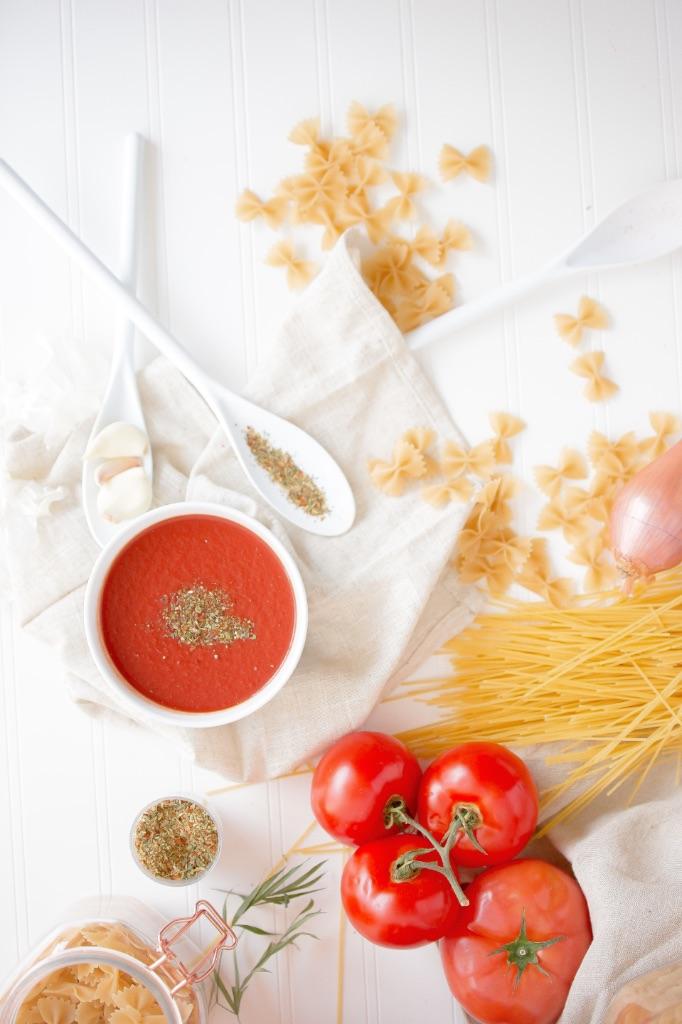 соус для макарон из помидоров