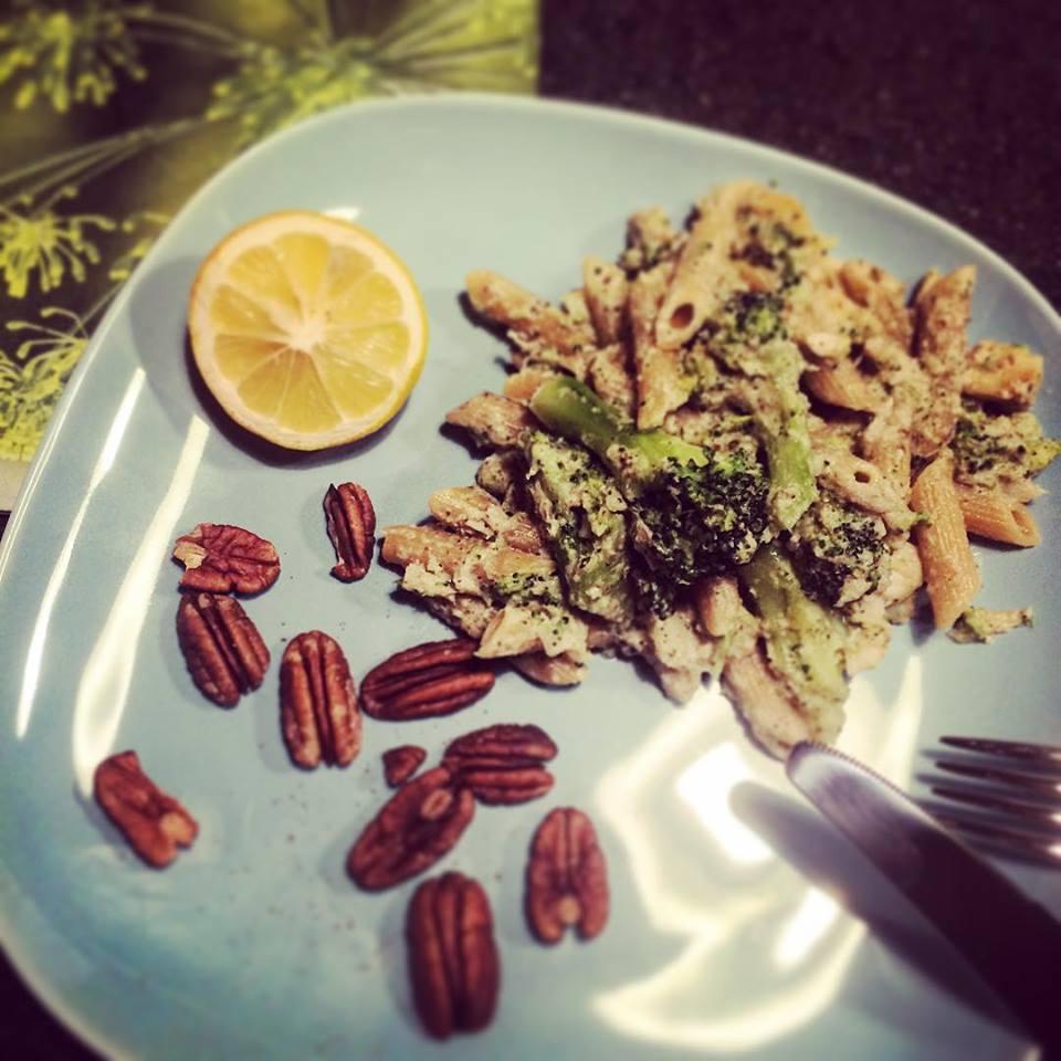 Макароны с рыбой и брокколи - быстро и очень вкусно
