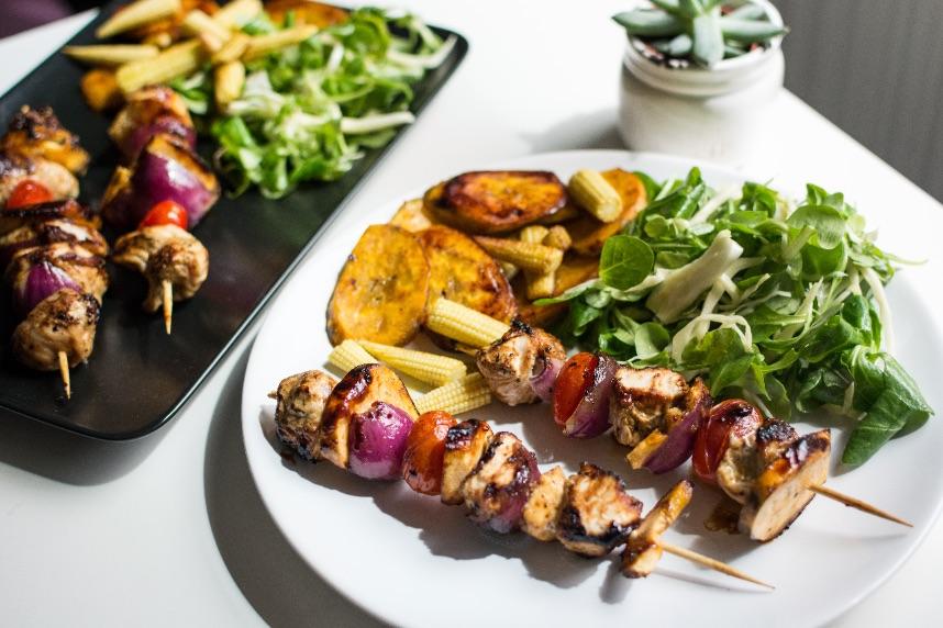 Разделение тарелки на зоны и порции еды