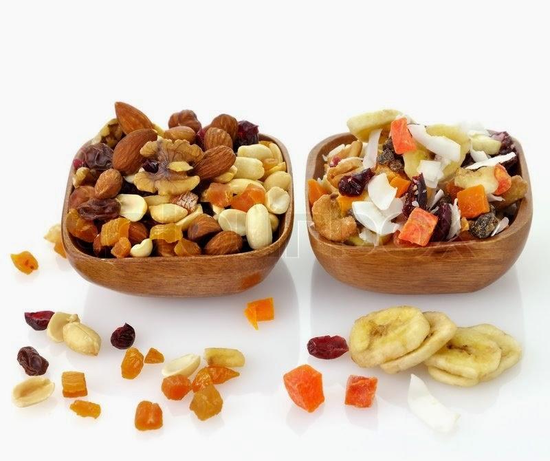 Полезное питание для занятых. Советы нутрициолога Екатерины Йенсен - Орехи и сухофрукты