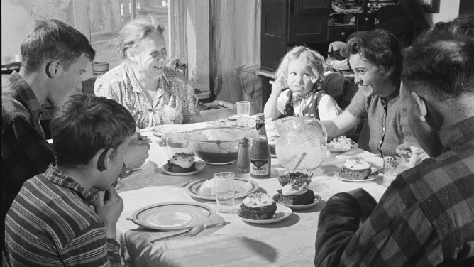 Питание детей в семье