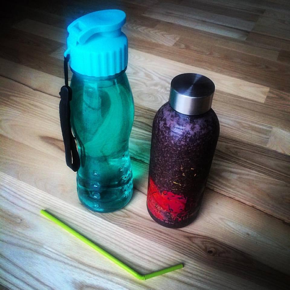 Самая правильная жидкость для смузи - питьевая вода