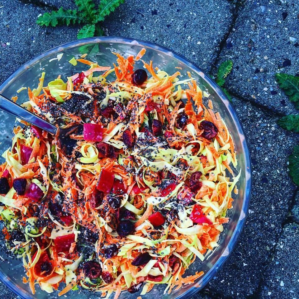 рецепт ощелачивания № 7 салат. Все ингредиенты в этом рецепте являются ощелачивающими продуктами