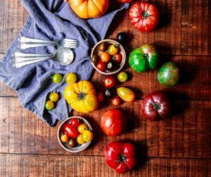 вкусные блюда из помидор