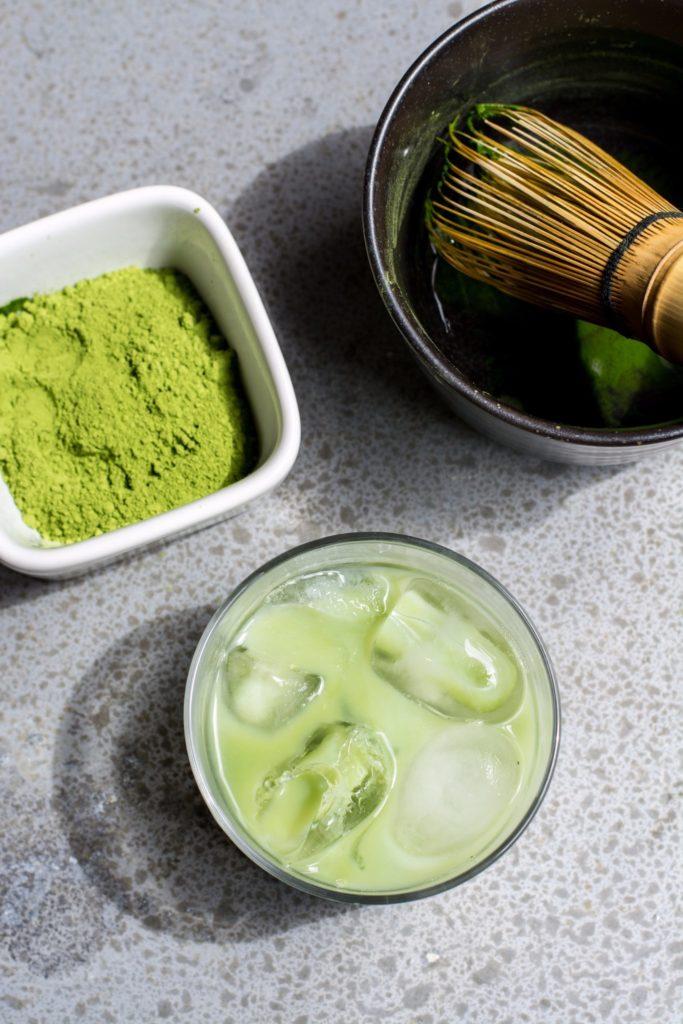 есть ли польза в зеленом чае матча