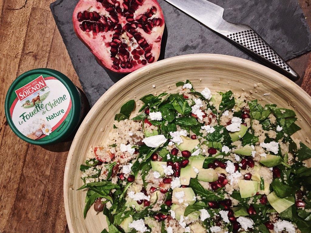 рецепт салата с гранатом из простых продуктов
