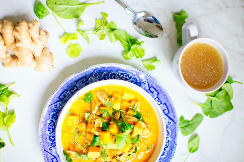 костный бульон используется как концентрат для приготовления супов