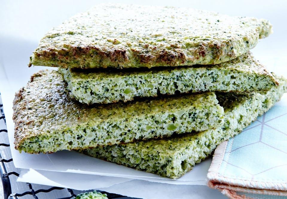 рецепт вкусного хлеба без глютена с брокколи