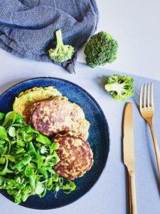 рецепт оладушки из брокколи без глютена
